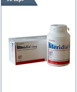 Sibutramine (Meridia) 98 capsules per package